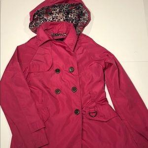 WeatherTamer Girls M 10-12 Pink Fuchsia Jacket